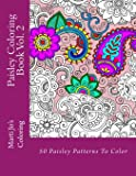 Image for Paisley Coloring Book Vol. 2