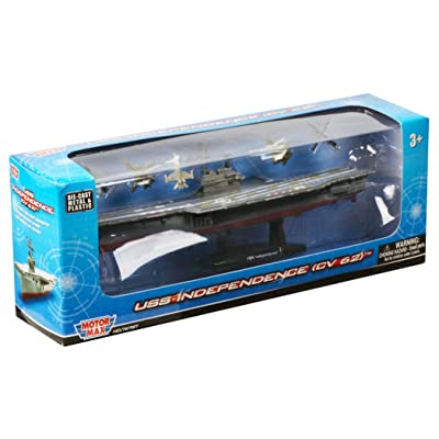 "Daron Aircraft Carrier 9"" Vehicle with 1 Helicopter: Toys & Games"