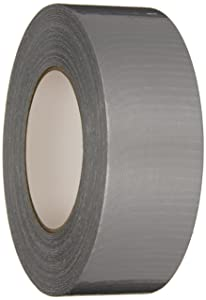 Nashua Polyethylene Coated Cloth Utility Grade Duct Tape, 8 mil Thick, 55 m Length, 48 mm Width, Silver