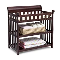 Delta Children Eclipse Changing Table with Changing Pad, Dark Chocolate
