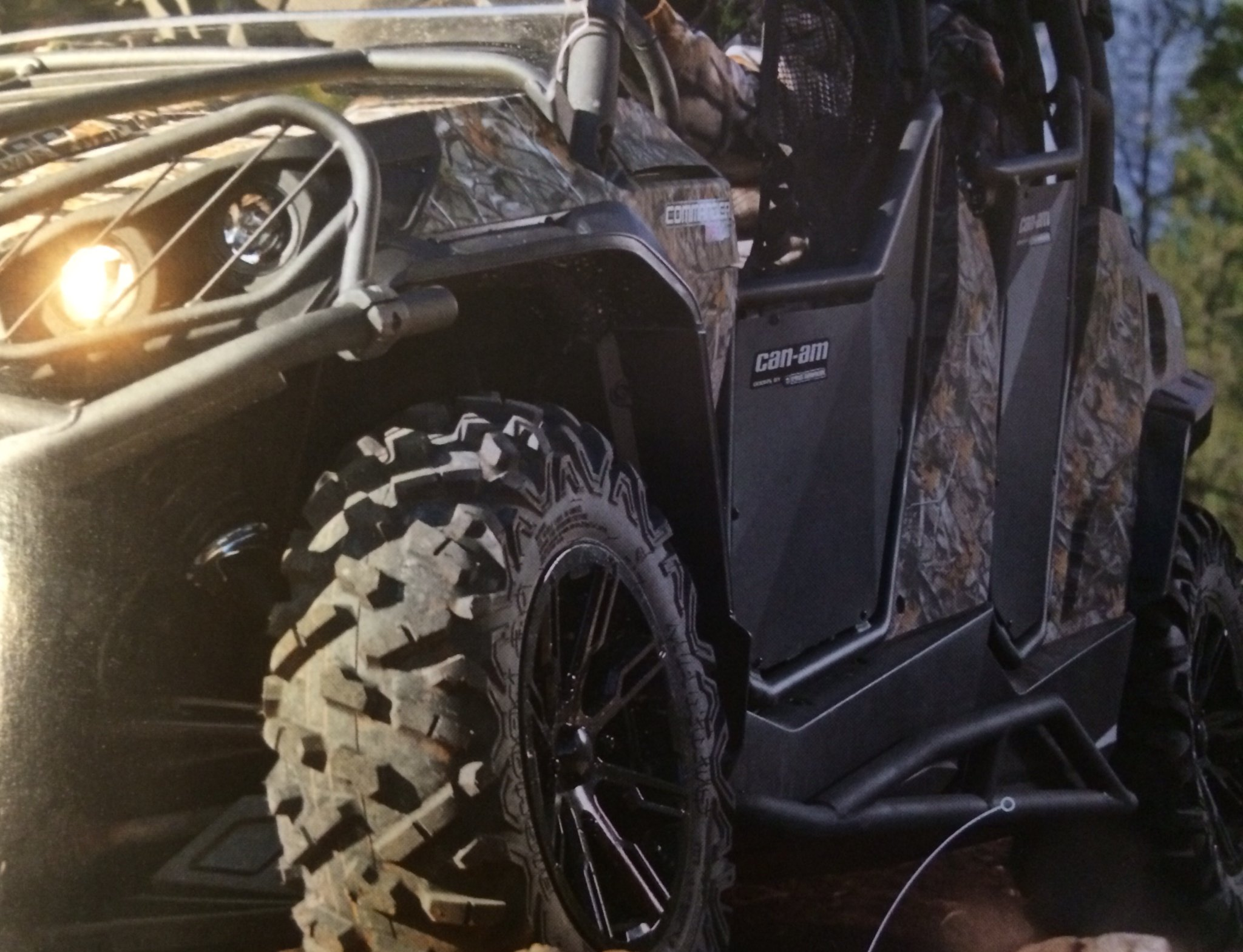Can Am Maverick Max, Commander Max Sport Rock Slider Bars for MAX #715002088 by Can-Am (Image #1)