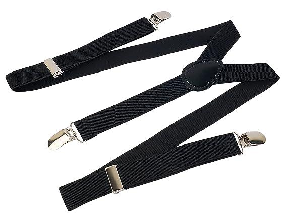 Zacharias Men's Suspender Black Y Back Lingerie