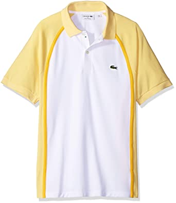dc1e01197e58d Lacoste Men s Short Sleeve Made in France Pique Reg Fit Polo