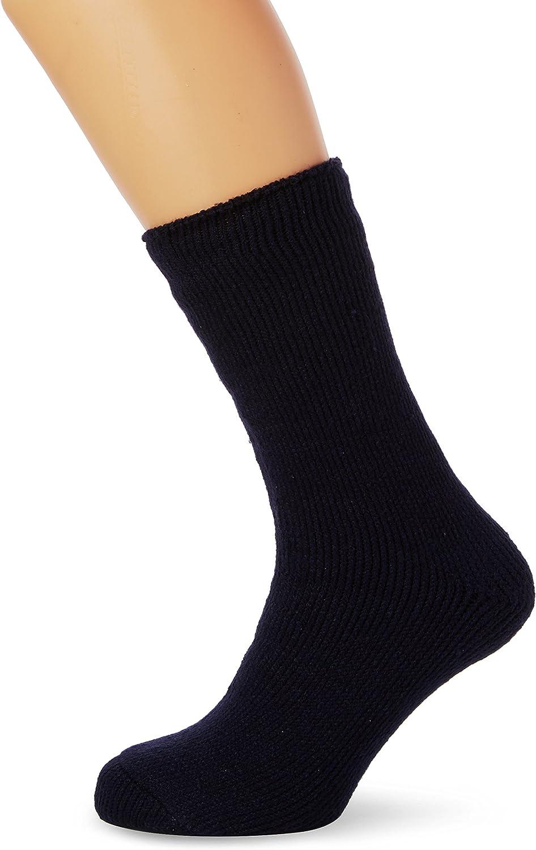 Ultimate 12 Paires Homme Chaussettes Thermiques Épais Chaud Work Boot Chaussettes Noires Taille 6-11