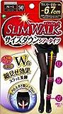 スリムウォーク (SLIM WALK) サイズダウンシアータイツ M~Lサイズ ブラック 着圧 タイツ