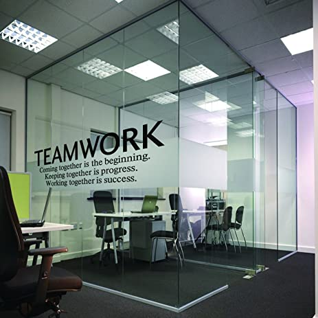Amazon.com: N.SunForest Quotes Wall Decal Teamwork Definition ...