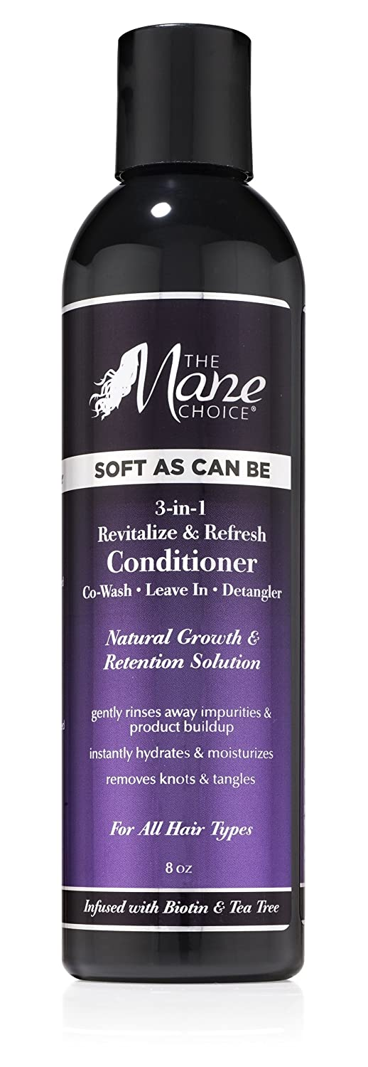 The Mane Choice Soft As Can Be 3-In-1 Revitalize& Refresh Conditioner (8oz)