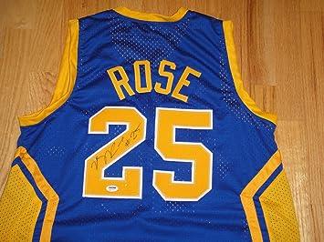 derrick rose simeon jersey
