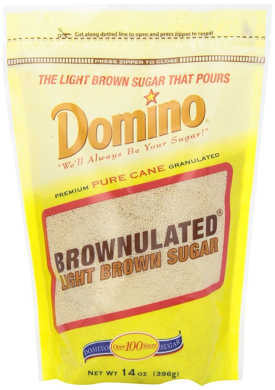 Domino Granulate Light Brown Sugar, 14 Oz: Amazon.com: Grocery U0026 Gourmet  Food
