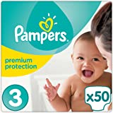 Pampers - New Baby - Couches Taille 3 (4-9kg ou 5-9 Kg/Midi) - Pack Géant - Lot de 2 (x100 couches)