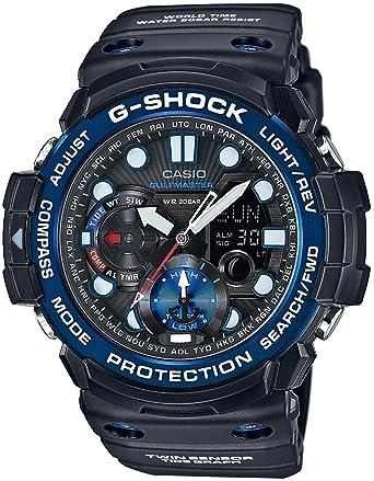 san francisco 01d55 bc3f5 カシオ Gショック ガルフマスター クオーツ メンズ 腕時計 GN-1000B-1A ブラック [並行輸入品]
