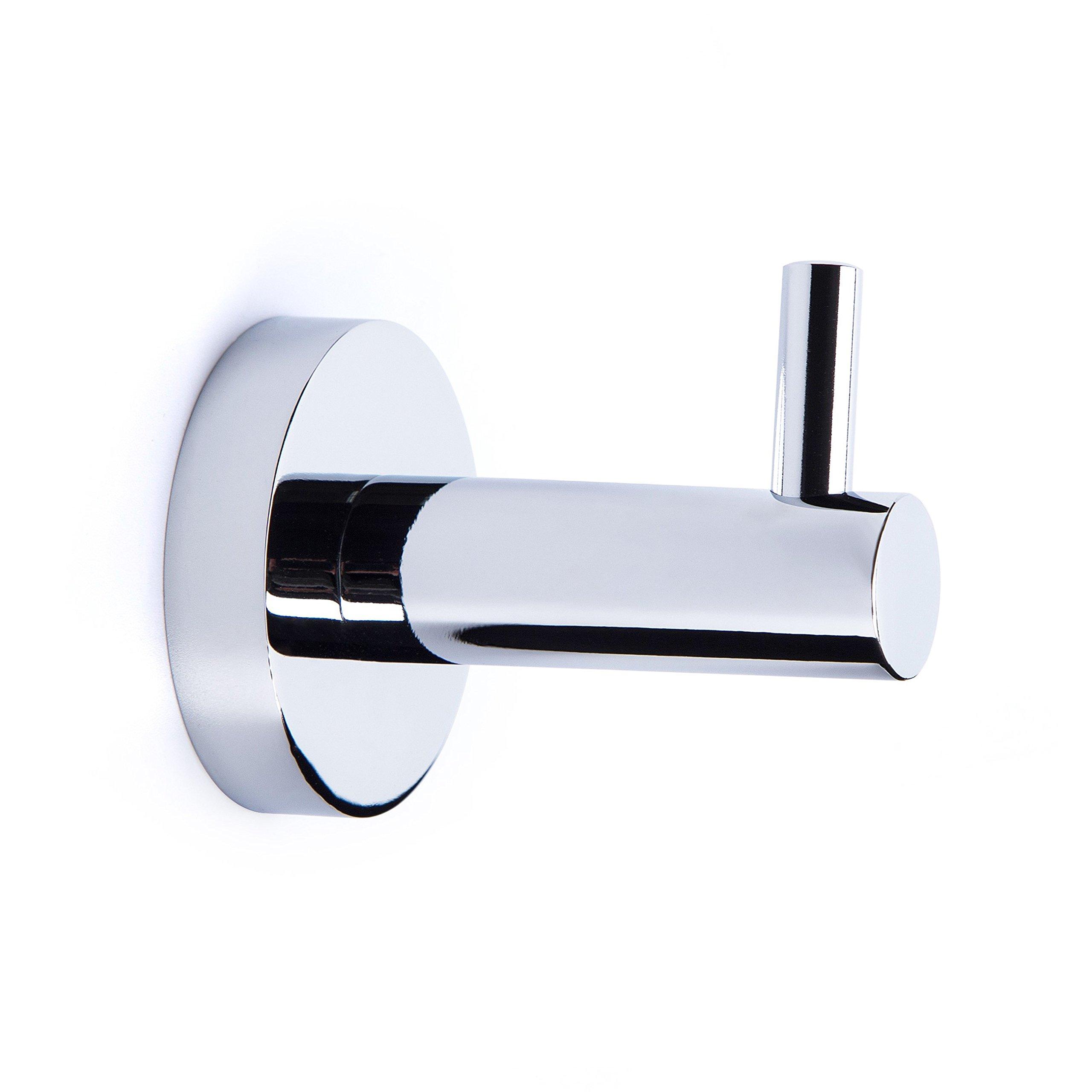 LUCKUP 6 Piece Bath Hardware Towel Bar Accessory Set, Includes 2 ...