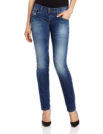 Diesel Women's Getlegg Slim Skinny Leg Jean 0601I, Denim,31x 32x32