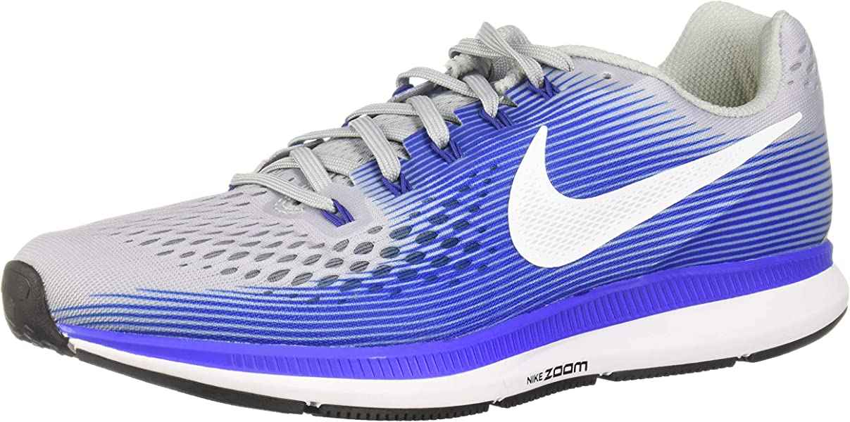 f2e987f8500 Nike Mens Air Zoom Pegasus 34 Low Top Lace Up Running Sneaker