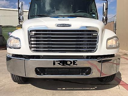 Amazon com: 2003-2012 Freightliner M2 106 Chrome Front End Bumper