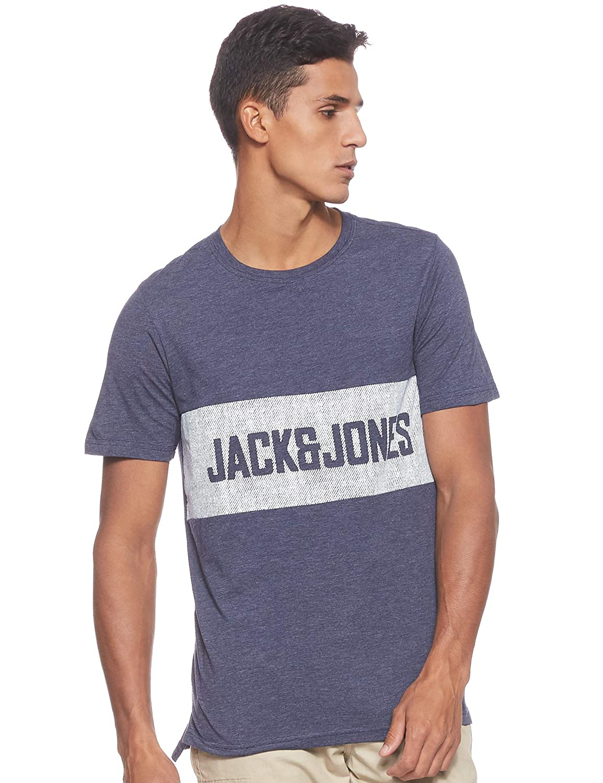 Jack /& Jones Jorrafael tee SS Crew Neck Camiseta para Hombre