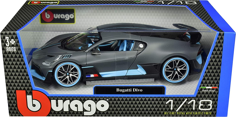 Bugatti Divo Speciale Special Edition Diecast Boxed 1:18 Model Car