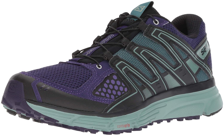 Violet (Parachute Violet Trellis noir) SALOMON X-Mission 3 W, Chaussures de Trail Femme 39 1 3 EU
