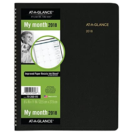 amazon com at a glance monthly planner january 2018 march 2019
