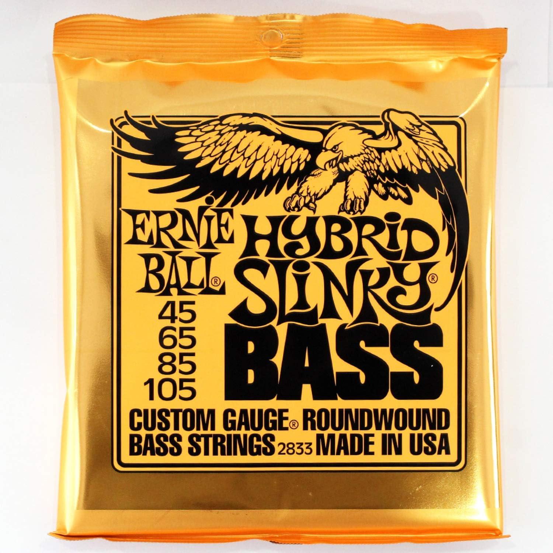 45-105 Ernie Ball 2833 Hybrid Slinky Electric Bass 4 String Set