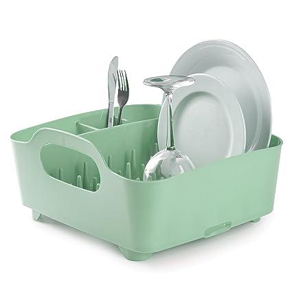 Amazon.com: Umbra Tub Dish Rack, Mint: Home & Kitchen