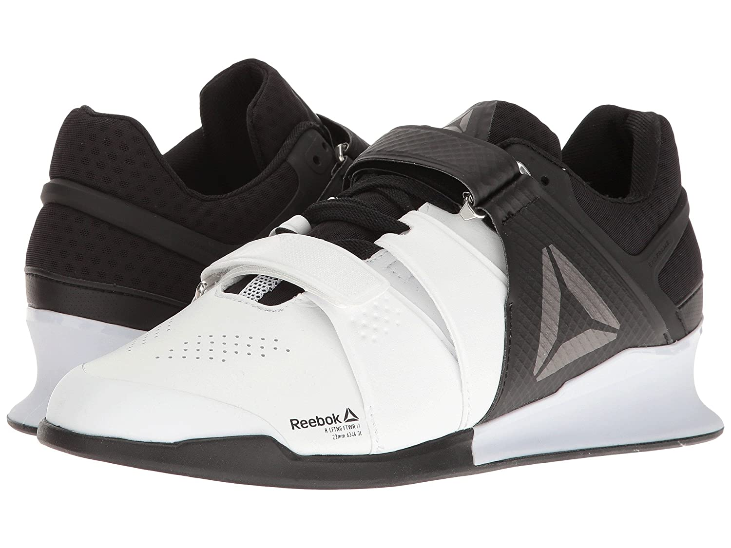 [リーボック] Reebok メンズ Legacy Lifter スニーカー [並行輸入品] B06X3Y2XXK US9(27cm) - D - Medium|White/Black/Pewter