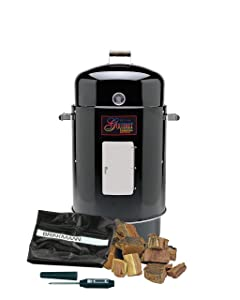 Brinkmann 852-7080-C Gourmet Charcoal Smoker Value Pack