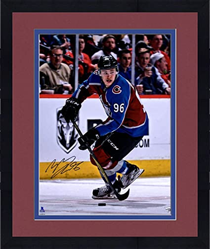 1ac628254 Image Unavailable. Image not available for. Color  Framed Mikko Rantanen  Colorado Avalanche Autographed 16 quot  x 20 quot  Maroon Jersey Skating  Photograph ...