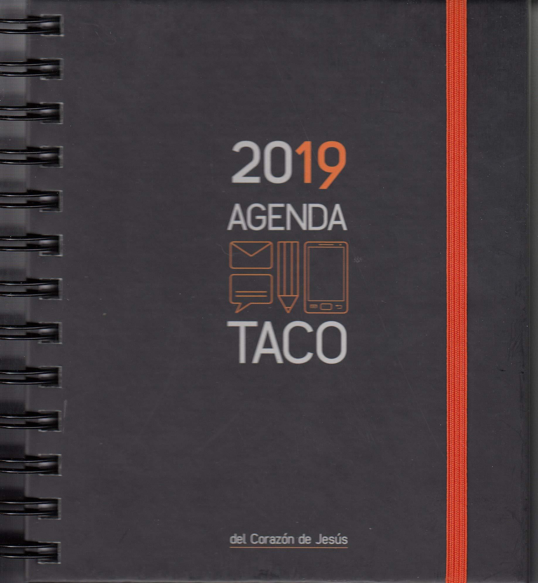 Agenda taco Sagrado Corazón 2019 Naranja Tapa blanda – 11 sep 2018 Ediciones Mensajero 8427141610 GBCY EDUCATION / General
