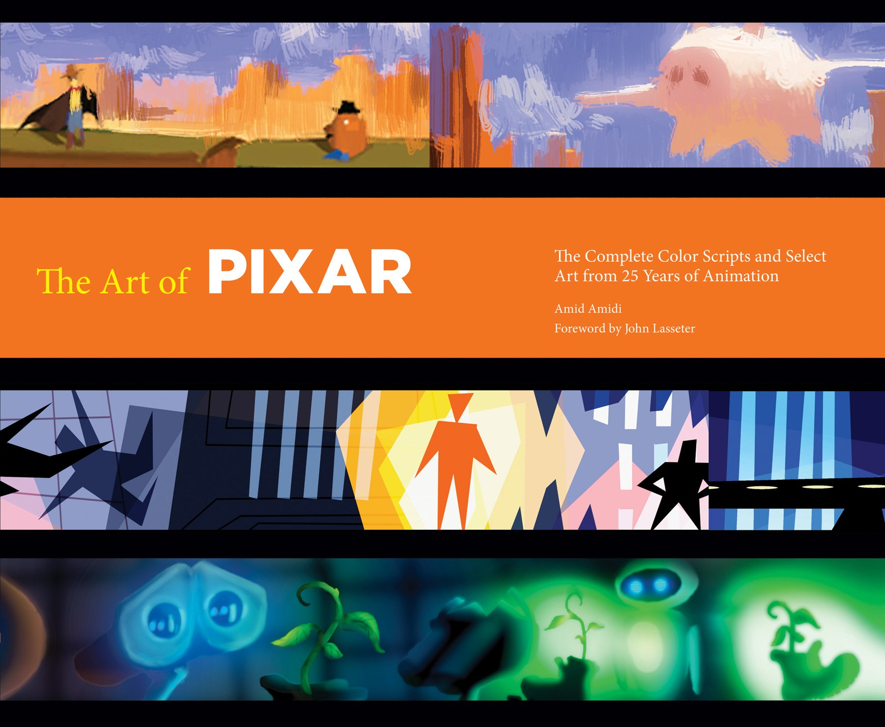 the art of pixar 25th anniv the complete color scripts and select art from 25 years of animation