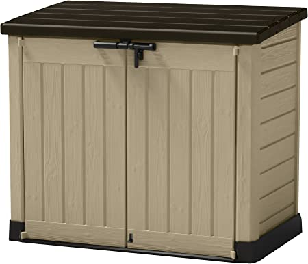 Keter 226814 Store-It-Out Outdoor Resin Storage Shed – Best Resin Storage Shed For Patio