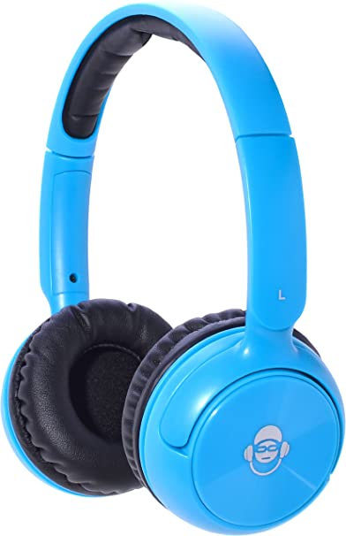 iDance BLUE 100CY Bluetooth Headphone (Blue) Over-Ear at amazon