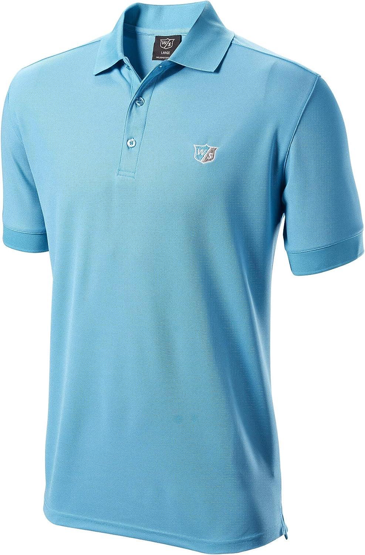 Wilson Authentic - Polo para Hombre, Color Azul Claro, Extra-Large ...