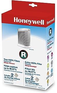 Honeywell HPA100WE4 - Purificador de aire (14 m², 170 m³, 8 h, 1,8 ...