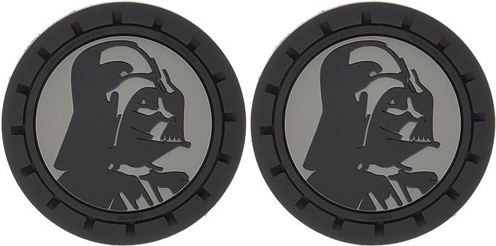 Plasticolor 000673R01 Star Wars Darth Vader Cup Holder Coaster