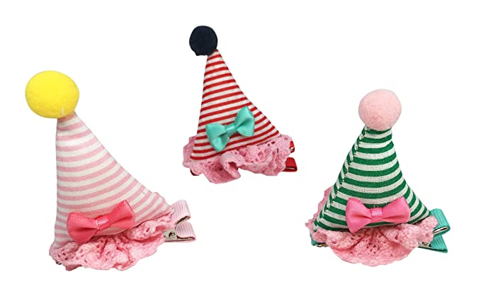 JJMG Baby Toddler Hair Clip Sets Princess Barrettes Flowers Bows And Fish