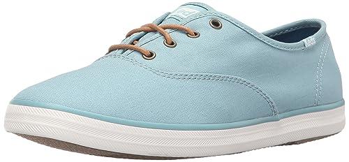 351de8c9bdd Keds Women s CHAMPION OXFORD SEASONAL DUSTY BLUE Fashion Sneakers ...