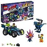 The LEGO Movie 2 Rex's Rex-treme Offroader! 70826 Building Kit (230 Piece)