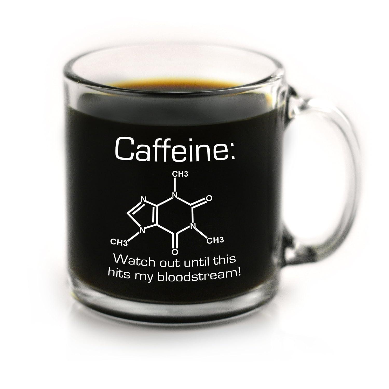 Of Caffeine Funny Coffee Chemistry Mug O8kn0PwX