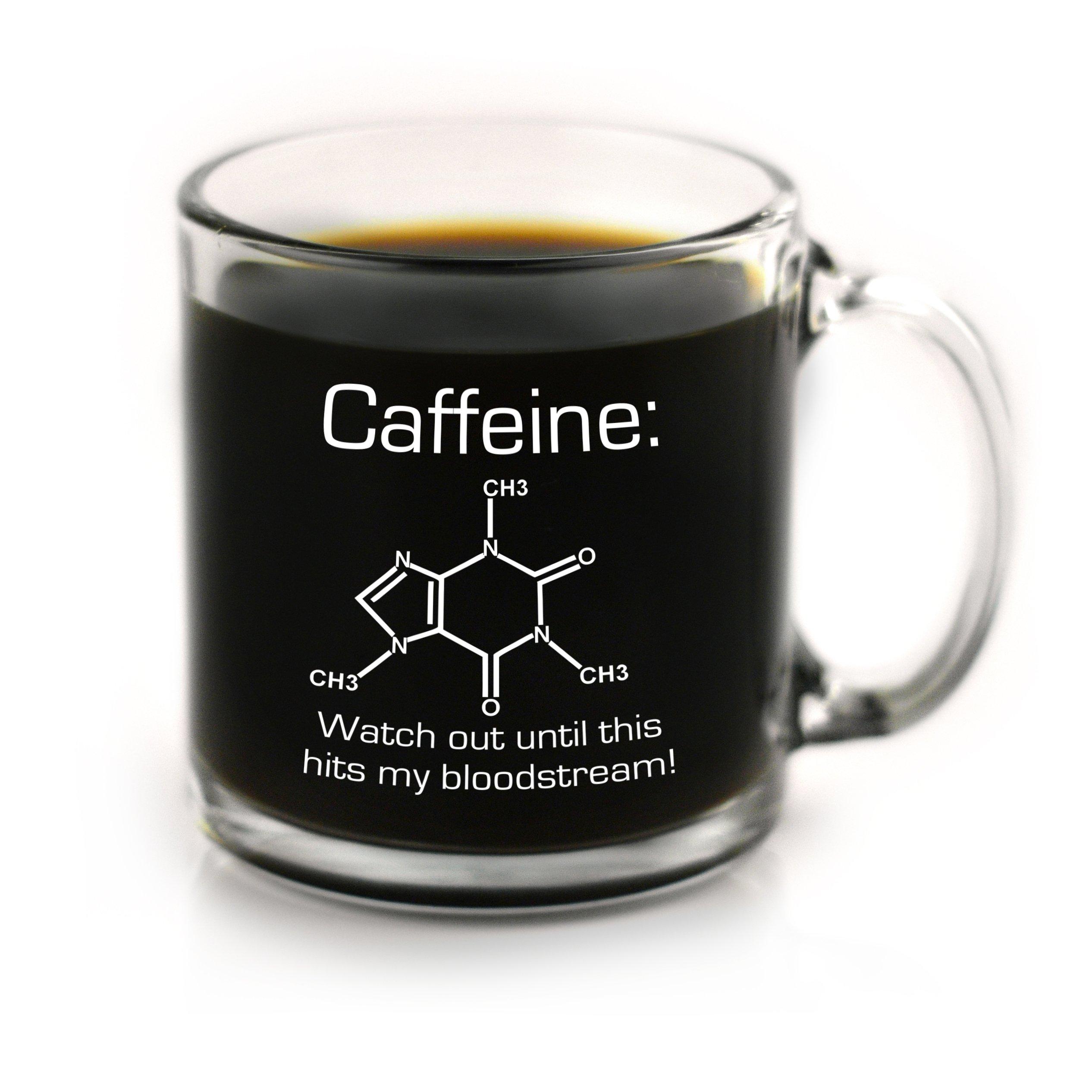Funny Chemistry of Caffeine Coffee Mug