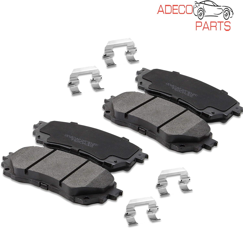 AdecoAutoParts/© Front Premium Ceramic Brake Pads CKD855 for Acura MXD Infiniti Q45 QX4.3 Nissan Pathfinder Quest X-Trail 2.5L 4.1L 3.5L 200 2001 2002 2003 2004 2005 2006