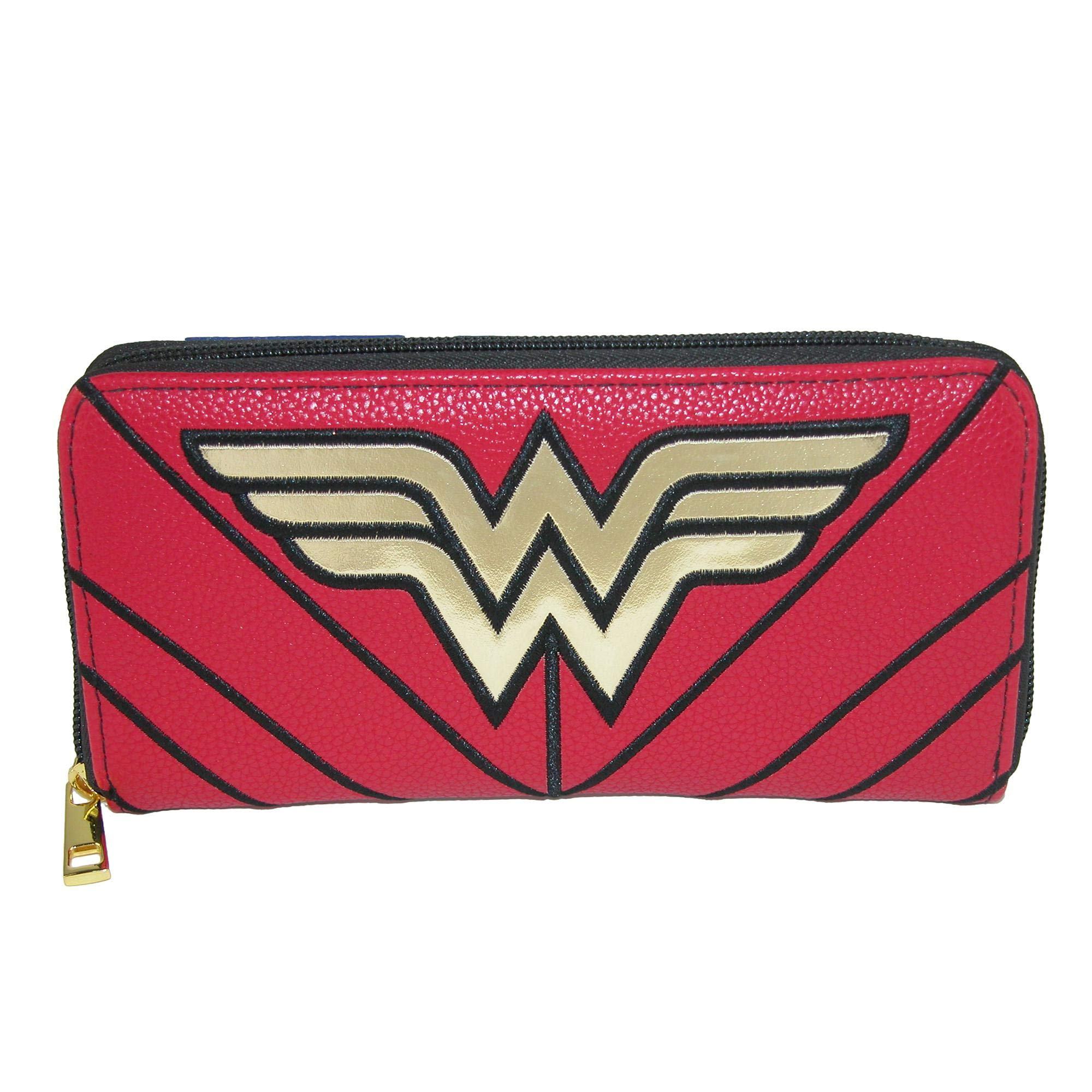 Wonder Woman Wallet - DC Comics Zip Around New gw4q42dco product image