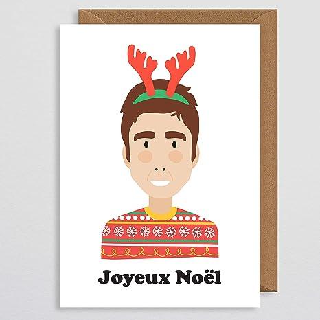 Auguri Di Natale Fidanzato.Noel Gallagher Biglietto Di Natale Joyeux Noel Biglietto Di