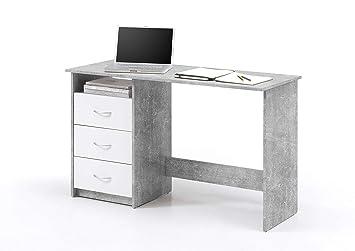 Avanti trendstore adria scrivania con cassetti bianchi ed