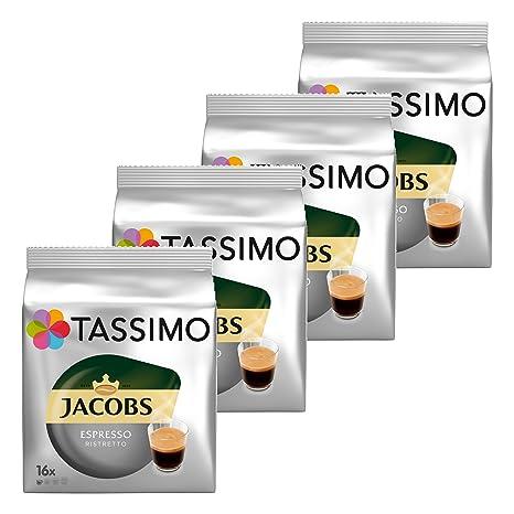 Amazon.com: T-Discs TASSIMO Jacobs Espresso Ristretto ...