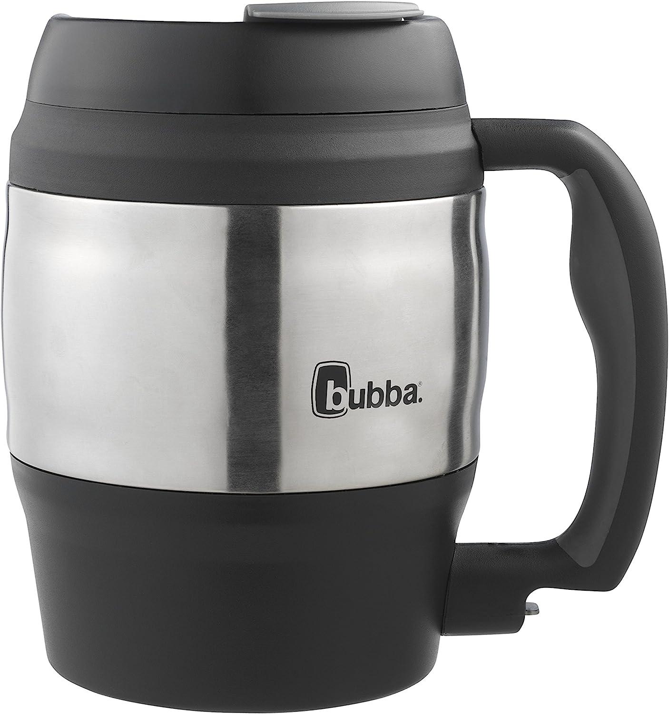 Bubba Classic Insulated Desk Mug, 52 oz, Black