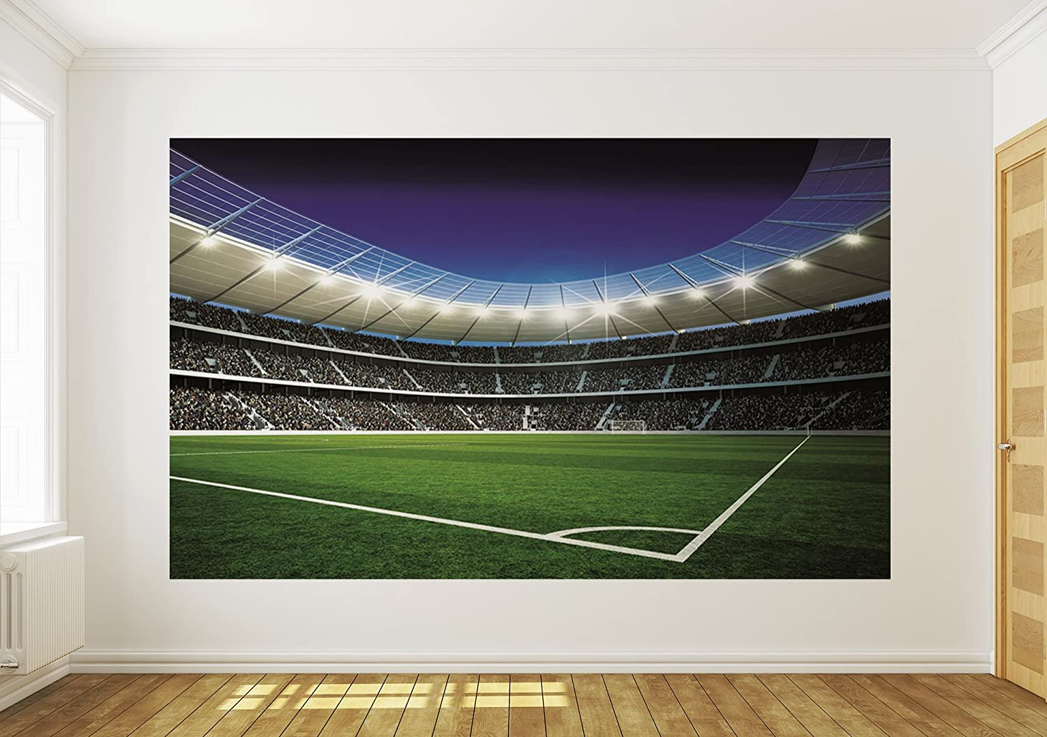 Football stadium wall mural choice image home wall decoration ideas football stadium wall murals home design amazon uk amipublicfo choice image amipublicfo Images