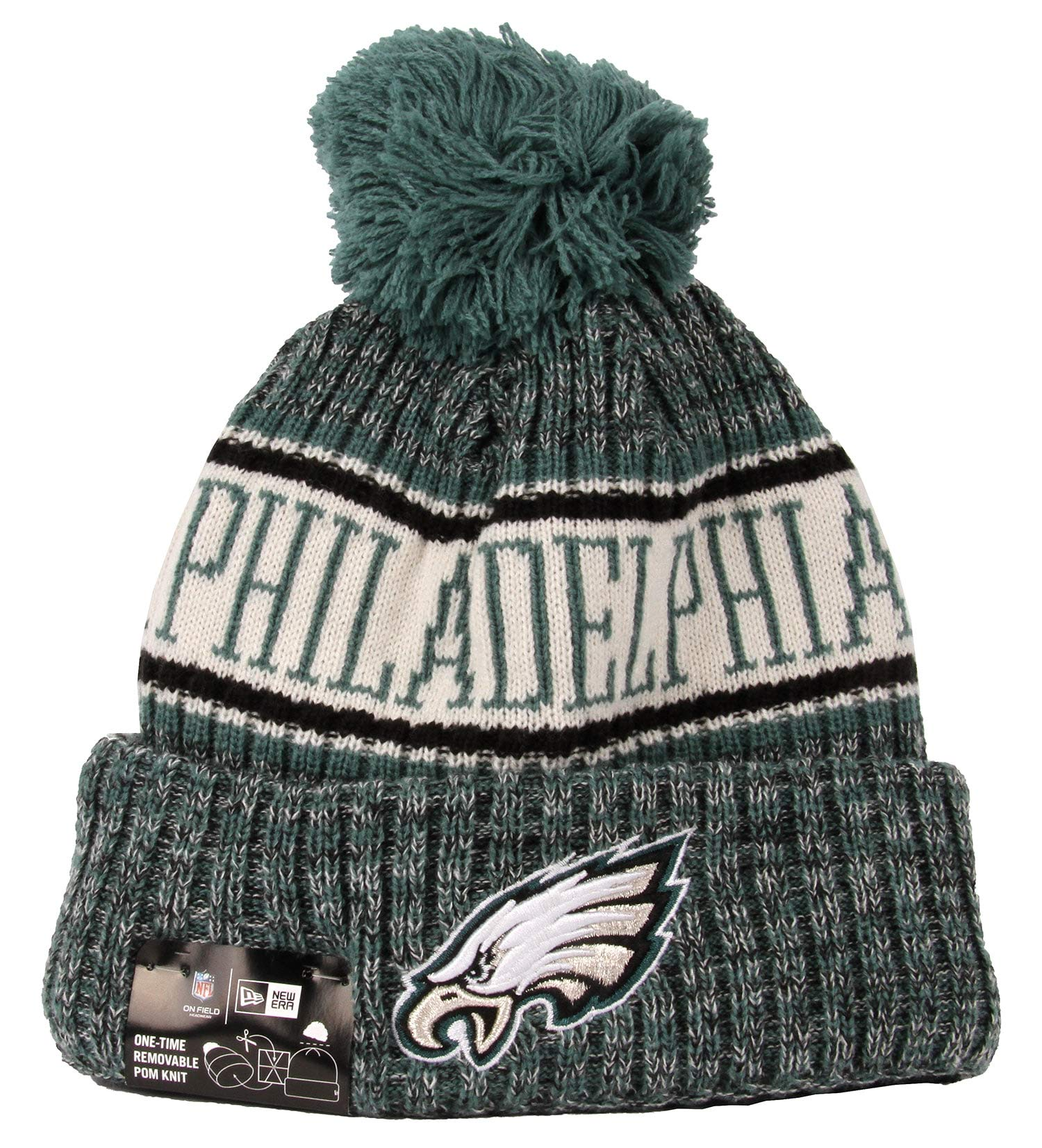 New Era Philadelphia Eagles NFL 2018 On Field Sport Knit