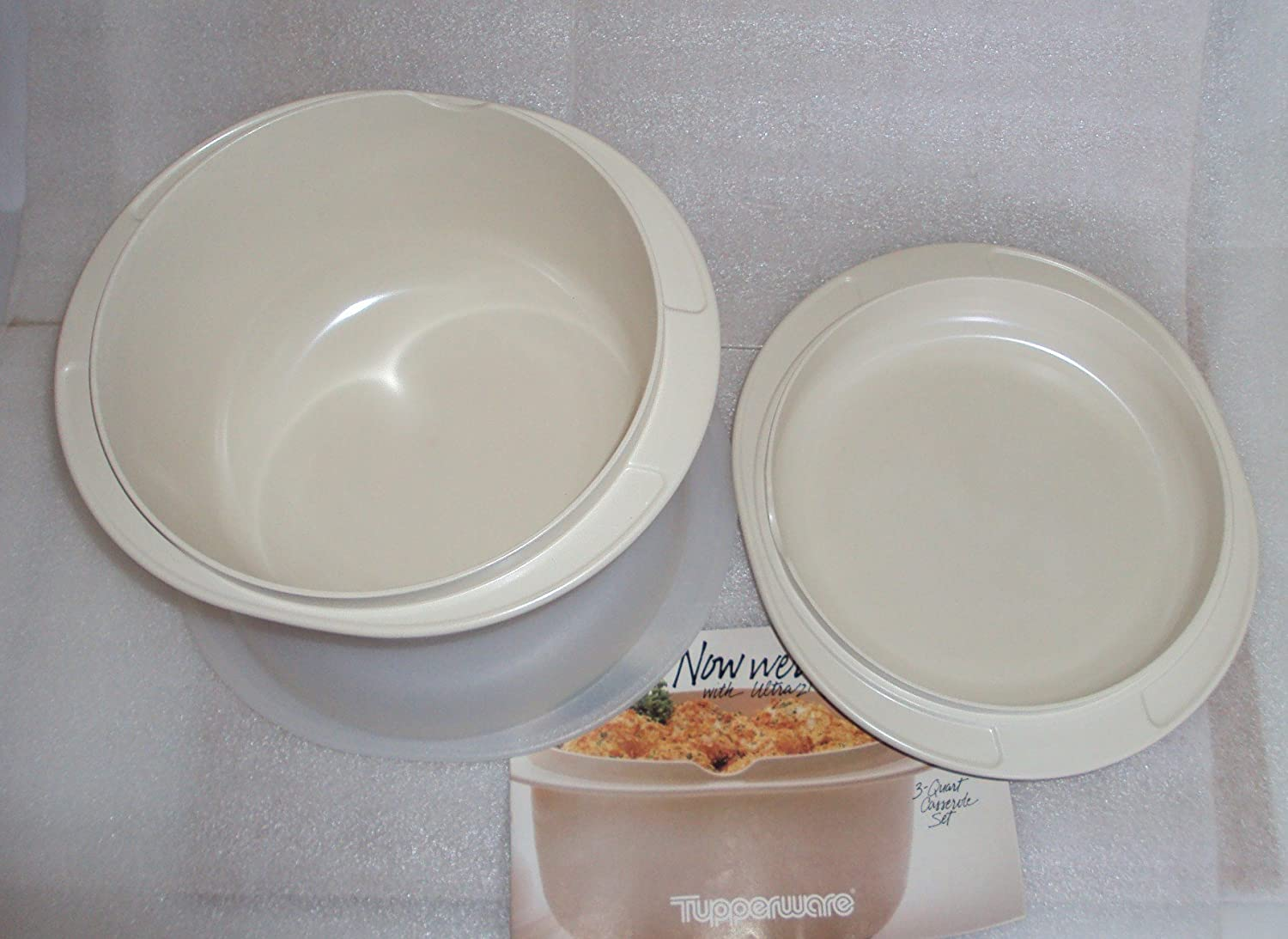 Tupperware Ultra 21 3 Pc Cookware Set, 3 Qt Casserole