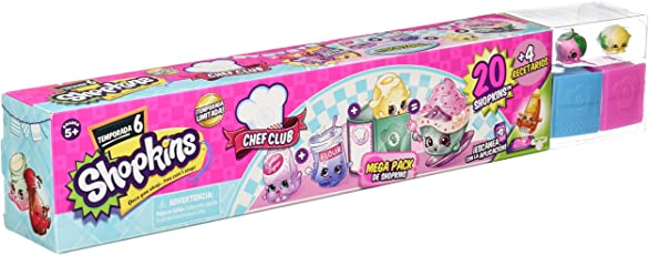 Shopkins Muñeca Chef Club Mega Pack